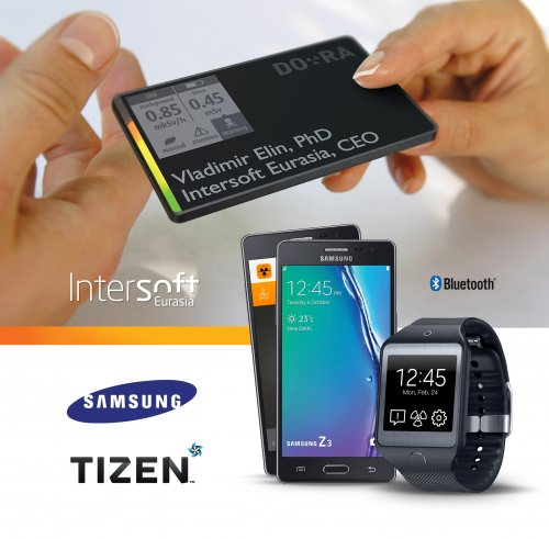 Samsung and Intersoft Eurasia introduced personal radiation monitoring device based on Tizen